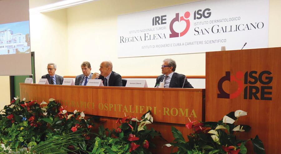farmaci sperimentazione clinica IFO roma