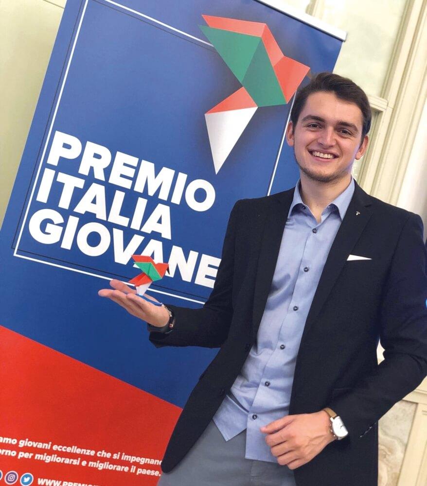 davide dal maso cyberbullismo premio italia giovane