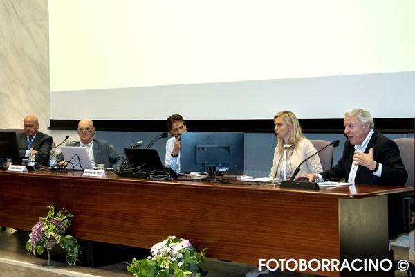 Prof G Noia,  Dott. T Maggino direttore UOC di Ginecologia e Ostetricia dell' ospedale di Mestre Dott. A Cocco, dottssa M Dal Monte e Dott. G Anzani